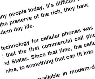 The Cell Phone Age