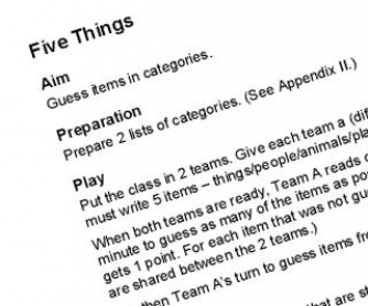 Oh no, not Hangman again: Amazing 40-page Collection of Games for the English Classroom