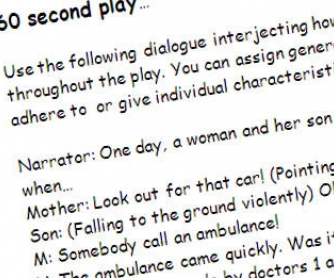 60 Second Role-Play