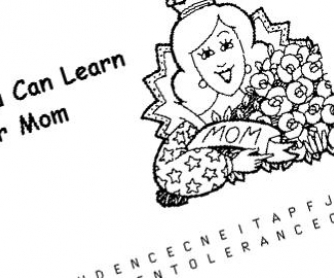 4 Mother's Day WordSearches
