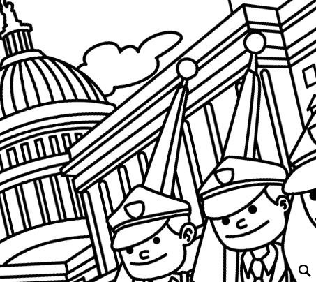 COLLECTION Memorial Day Coloring Pages Pack