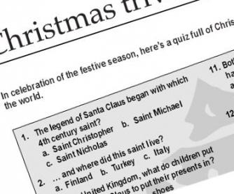 Christmas Traditions Quiz