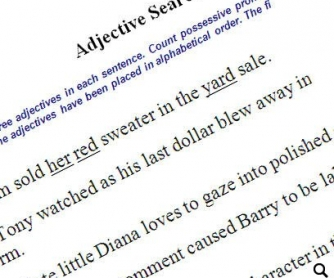 55 Grammar Worksheets: Analogies