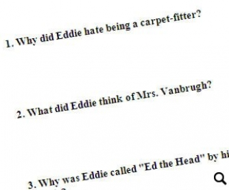 The Carpet Fitter: Reading Comprehension Worksheet