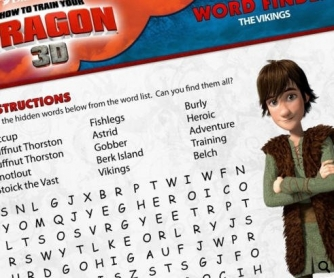 EXCLUSIVE: Tons of How to Train Your Dragon Printable Activities