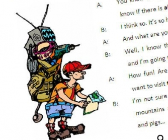 TEST on future tenses, verb patterns, tourism vocabulary and use of shall