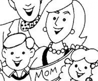 30 Mother's Day Coloring Pages