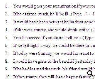 Conditional Sentences Quiz