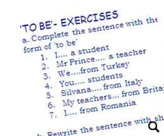 'To Be'- Exercises