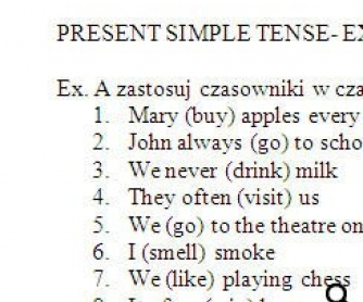 Present Simple for Polish Speakers