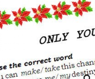 Song Worksheet: Only You by The Platters (WITH VIDEO)