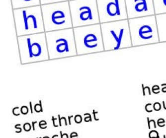 Injuries and Illnesses Wordsearch