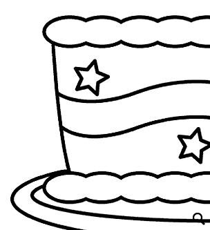 Birthday Coloring Worksheet Candles On The Cake