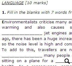 Upper Intermediate English Test