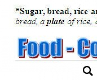 Food and Quantifiers