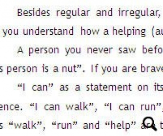 Helping (Auxiliary) Verbs