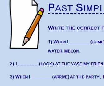 Past Simple or Past Perfect