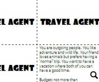 Travel Guide Role Play