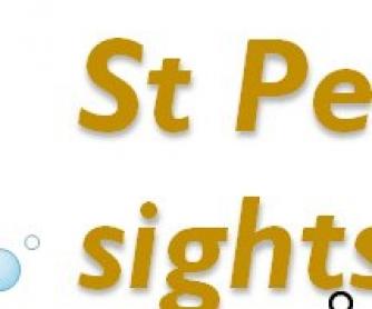 Powerpoint Presentation: St Petersburg Sightseeing Tour