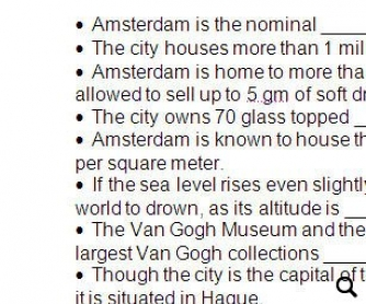 The City of Amsterdam