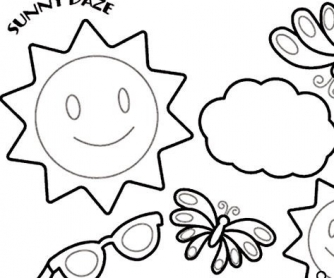 Everyday Decorations: Coloring Pages