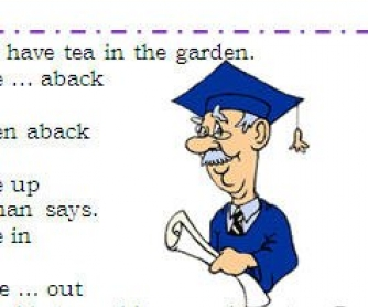 Phrasal Verbs Challenge: To Take""