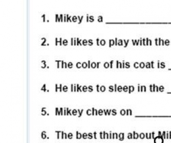 Adjectives Worksheet For Kids