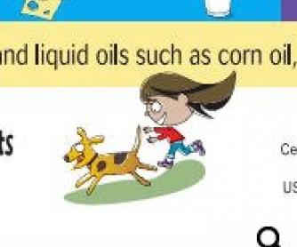 Nutrition For Kids: Preschooler Bookmark