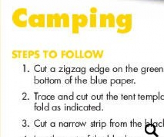 Camping: Creative Writing Project