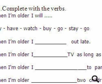 Future Tense Exercises