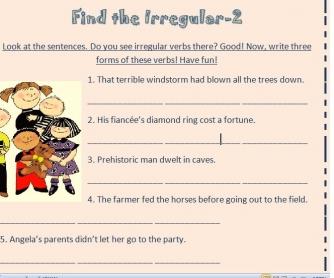 Find the Irregular-2