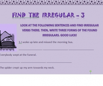 Find the Irregular - 3
