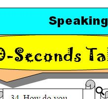30 Seconds Talk