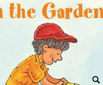 In the Garden: Spelling Practice for Kids