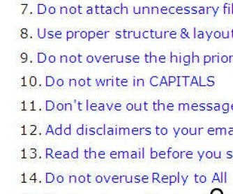 32 Most Important Email Etiquette Tips