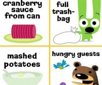 Thanksgiving Yummy Bingo