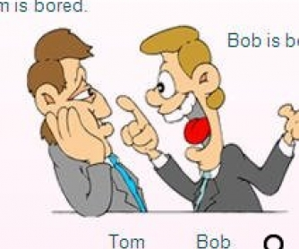 Bored or Boring?