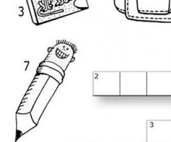 School Crossword (Primary School)