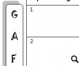 "Grid for ""Avoiding Gaffes"" Printable Worksheet"