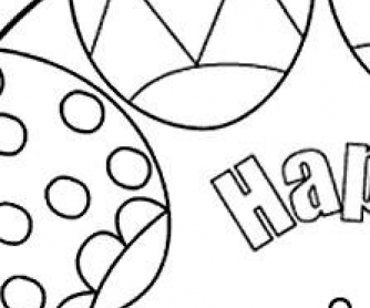 14 Easter Coloring Pages and Activities