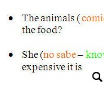 Revision of Verb Tenses
