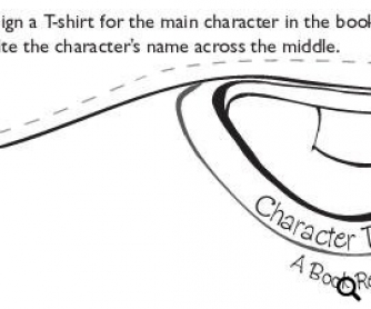 A Character T-Shirt: Individual Book Report Project