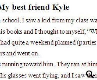 My Best Friend Kyle: Graded Reader