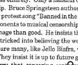 Rap Music and Censorship