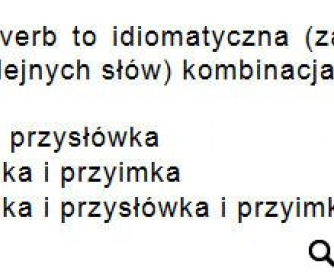 Phrasal Verbs Worksheet for Polish Learners