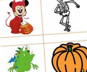 Cut and Paste Halloween Fun
