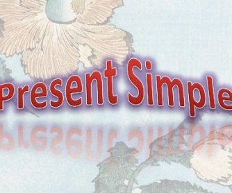 Introducing the Present Simple (All in English)