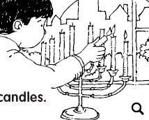 chanukah story coloring pages | 17 FREE Hanukkah Worksheets