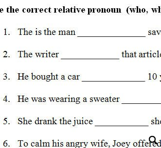 Pronoun study guide pdf