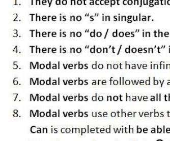 Teaching Modal Verbs: Presentation And Practice Worksheet